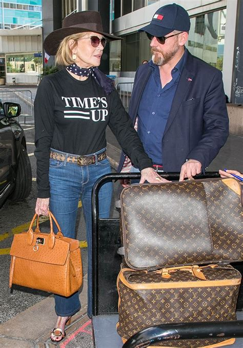 celebrity luggage moments marie claire australia