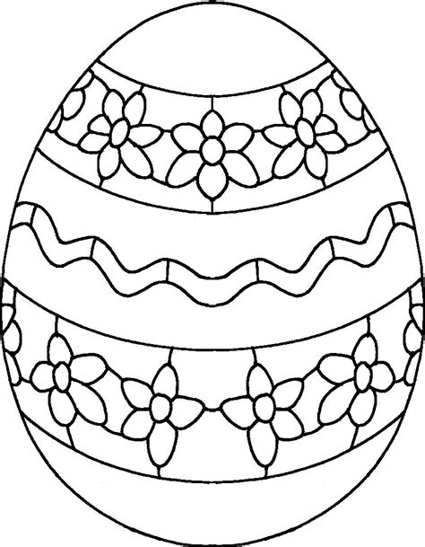 Coloring Egg by Easter Eggs Coloring Pages Coloringsuite