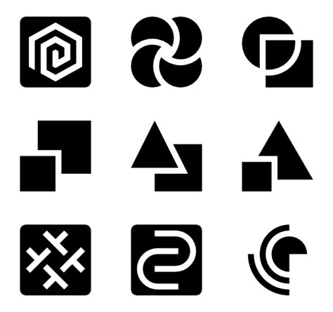 Abstract Shapes Shapes Png by 5 Abstract Shape Icon Packs Vector Icon Packs Svg Psd