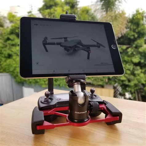 red mavmount  dji mavic pro mavic air  spark ipad