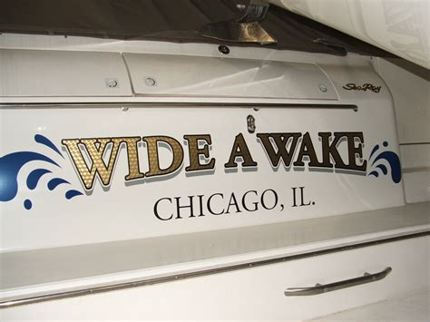 Fishing Boat Graphics Lettering by Boat Lettering Boat Decals Boat Names Power Boats Boat
