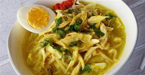 resep soto ayam lamongan maknyus oleh  darling cookpad