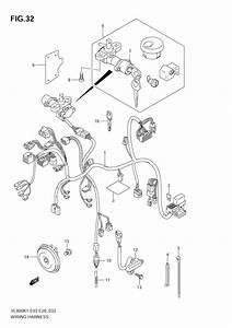 Wiring Harness  Vl800k1 K2   U0434 U043b U044f Vl800z Volusia 2001