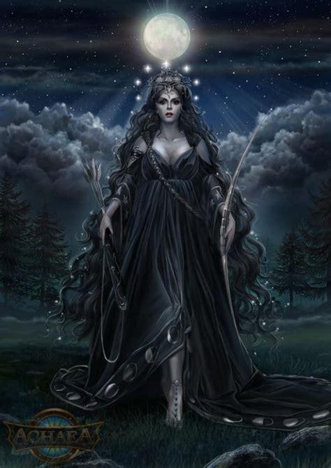moon goddess ourania achaea dreams of divine lands