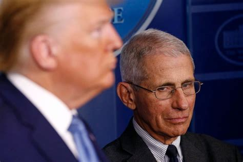 Queens, new york, on june 14, 1946), nicknamed the donald, is the 45th president of the united states of america, as a result of winning the 2016 presidential election as the republican party nominee. Fauci Says He Can't Stop Trump from Talking at Briefings