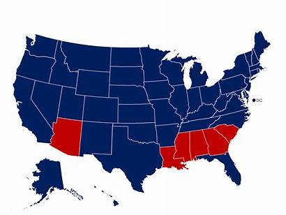 Election 1964 Results Presidential Map History Pat