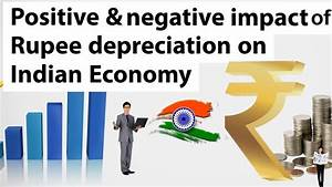 Indian Rupee against US Dollar, Rupee depreciation & its ...