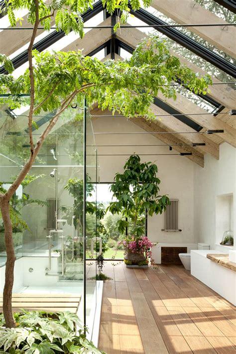 beautiful bathroom  garden ideas homemydesign