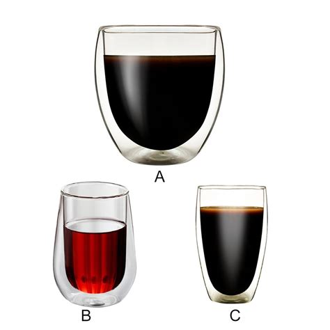 Double walled glass ensures that your tea stays hot. Wholesale Double Wall Heat resistant Glass Tea Cup Coffee Mugs Transparent Insulation Glasses ...