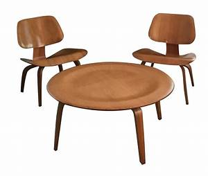 Eames Coffee Table and Chairs - 3 Chairish