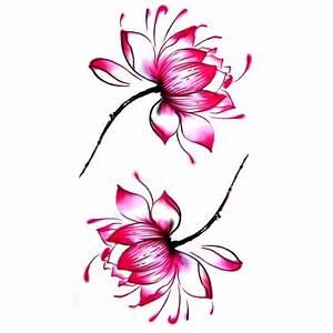 Fleur Lotus Tatouage : tatouage ephemere tatouage temporaire tatouage fleur de ~ Mglfilm.com Idées de Décoration