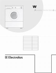 Electrolux Washer Wtf330hs0 User Guide