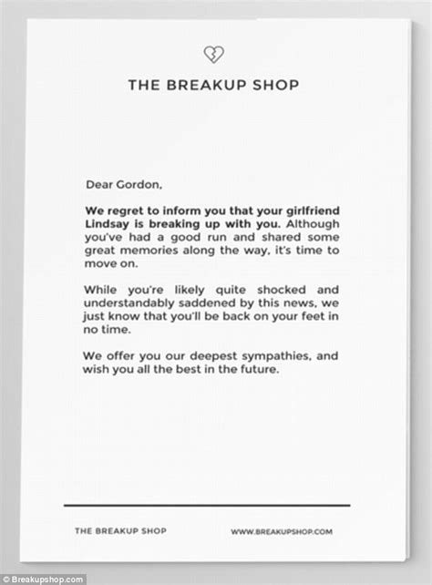 breakup shop charges     relationship