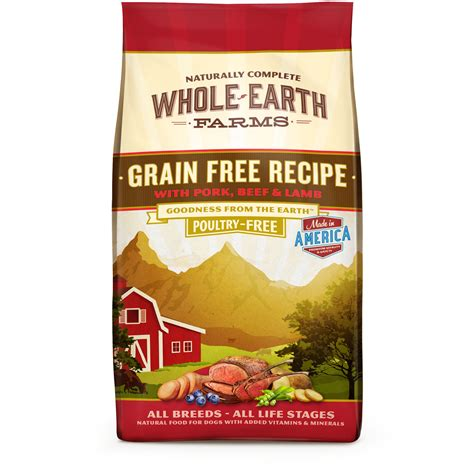 id馥s cuisines whole earth farms grain free beef food petco