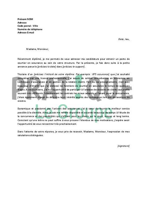 lettre deco cuisine lettre de motivation pour un emploi de courtier en assurances débutant pratique fr