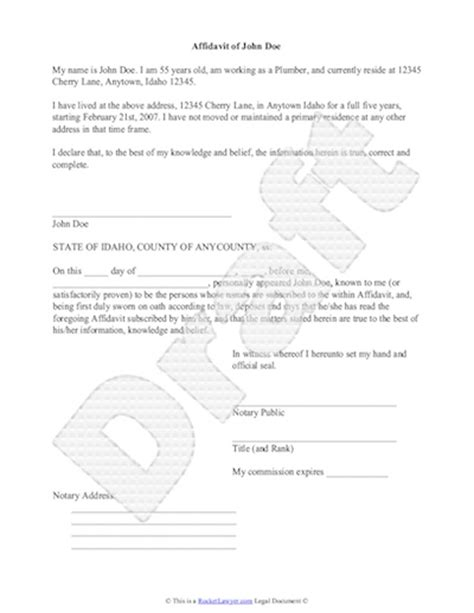 affidavit | EFLnet