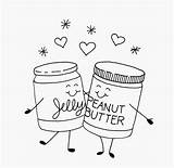 Butter Peanut Embroidery Jelly Patterns Coloring Pages Pattern True Challenge Drawing Pb Cute Month Tea Colouring Together Towels Printable Story sketch template