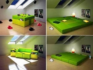 Modular furniture multi purpose for small space room for Multipurpose furniture for small spaces