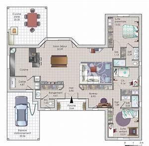 Plan De Maison   Une Maison Autonome En  U00e9nergie