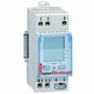 Compteur Divisionnaire électrique : compteur d 39 nergie modulaire legrand castorama ~ Melissatoandfro.com Idées de Décoration