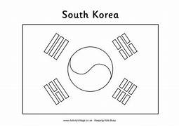 south korea olympic flag coloring pages