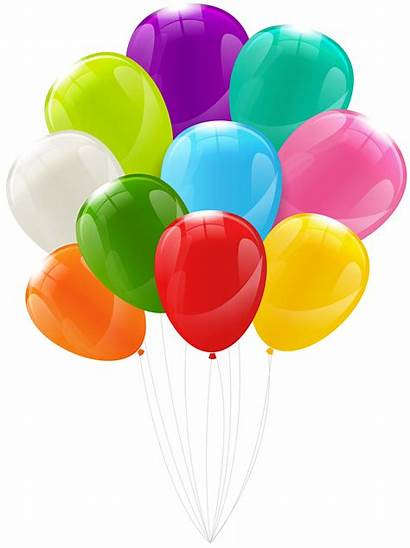Bunch Balloons Clipart Transparent Fall Leaves Frame