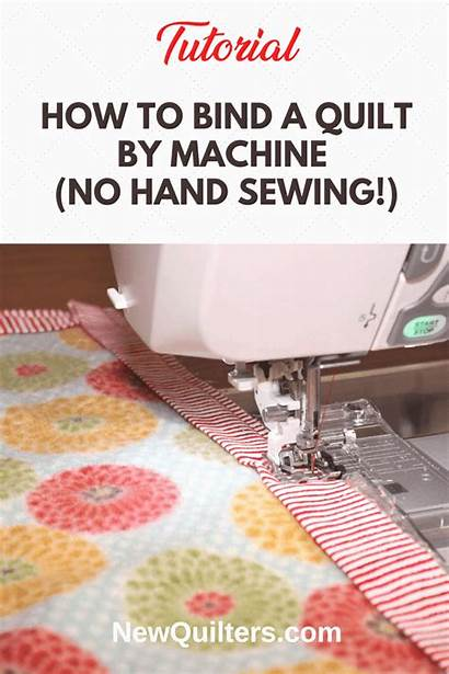 Sewing Machine Bind Tedious Faster Easier Quilts