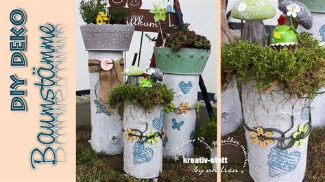 Mein Kleiner Garten Dekoration Und Kreatives by Diy Deko Baumst 228 Mme Vintage Pflanzen Garten How
