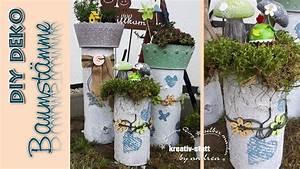 Wanddeko Für Garten : diy deko baumst mme vintage pflanzen garten how ~ Watch28wear.com Haus und Dekorationen