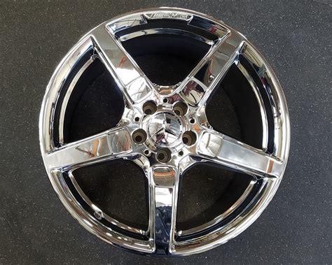 Mercedes Cls550 Sl550 19 Inch Amg Chrome Wheels Factory