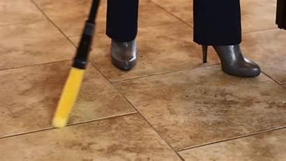 Kitchen Vacuum Sweep Wall Gifs Dustpan Messy