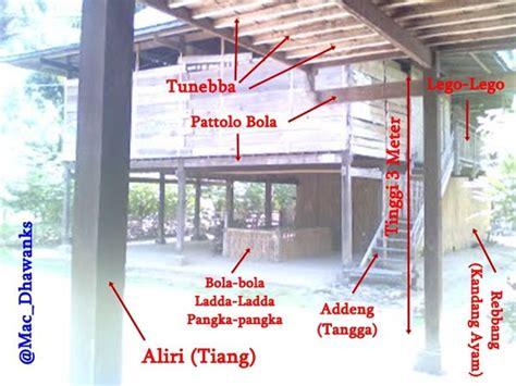 pinrang berseri rumah adat bugis rumah anti banjir