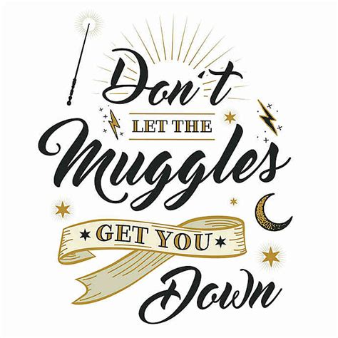 harry potter muggles quote peel stick wall decal bed