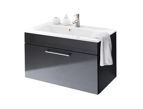 waschtisch 90 cm breit bad waschtisch hera mit glaswaschbecken wei 223 90 cm breit anthrazit bad waschtische