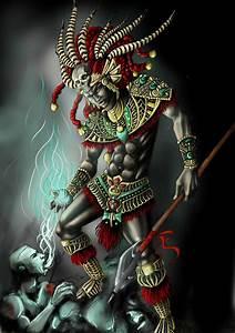 Aztec Warrior by XeNiitA on DeviantArt
