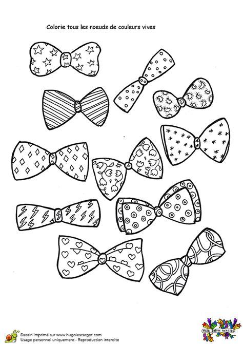objet deco cuisine coloriage activité nœuds en papillons hugolescargot com