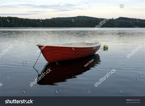 Lake Boats Small by Small Boat On Lake Sweden Stock Photo 58602898