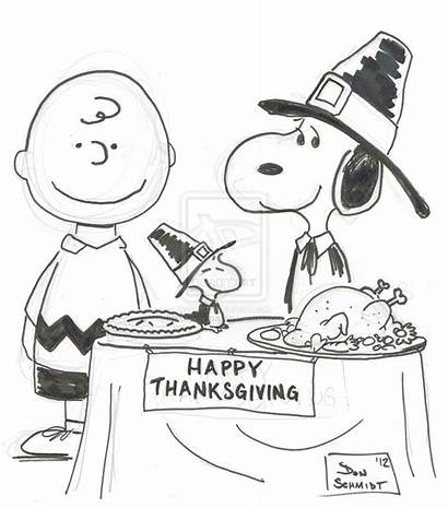 Thanksgiving Peanuts Coloring Pages Charlie Brown Snoopy
