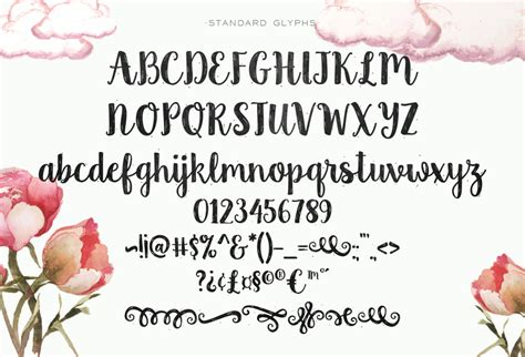 shabby chic fonts country chic script script fonts on creative market