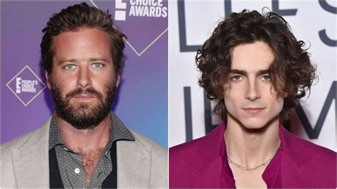 Fans respond with hilarious Armie Hammer x Timothee ...