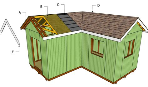 how to shingle a shed roof how to install roof decking howtospecialist how to