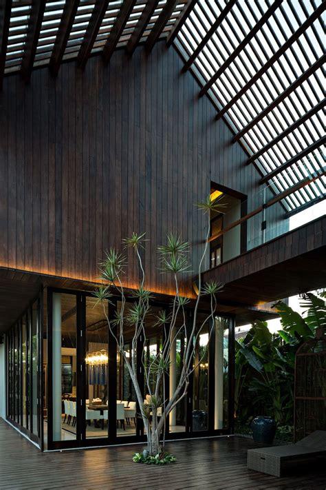 family retreat hidden   jungle bali architecture