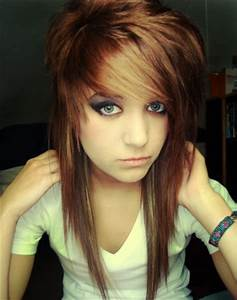 Medium Emo Hairstyle For Girls Latest Hairs For Girl