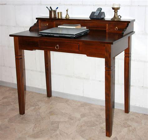 Sekretär Aus Holz by Schreibtisch Nussbaumfarben Sekret 228 R Holz Massiv Kolonial