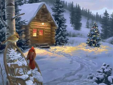 Christmas Country Wallpaper 1024x768 Hd Wallpapers