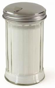 Sugar Dispenser Hatch Door Style Lid Glass Canister