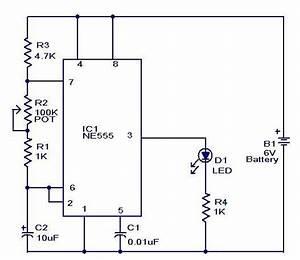 Led Electronic Flasher Wiring