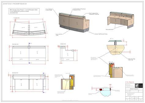 curved reception desk plans plans diy