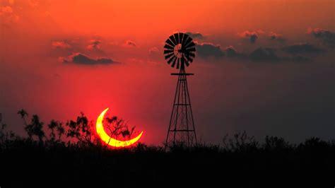 landscape sun texas eclipse wallpapers hd desktop