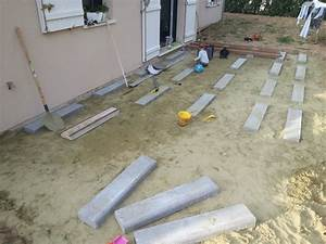 besoin de votre experience sur les terrasses bois 7 messages With terrasse bois sur parpaing plein